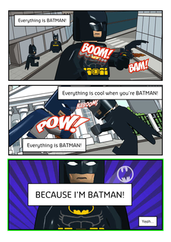 HISHE-Everything Is Batman Lyric Sheet (fanmade) by Camelot-Angel