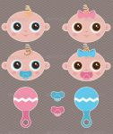 Vector Babies by InterGrapher