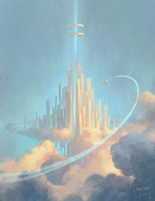 Cloud City by Harkale-Linai