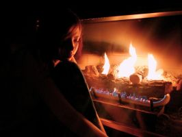 By The Fire by NoctemPhotography
