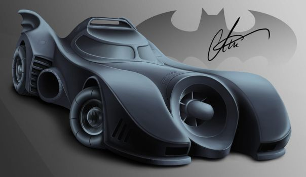 The Batmobil (The one and only!) by LierACC