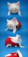 Stacking Plush: Small Inu Yasha by Serenity-Sama
