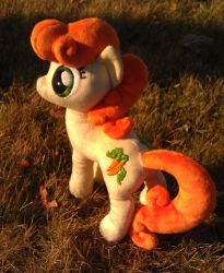 Golden Harvest / Carrot Top Plushie by sockfuzzy