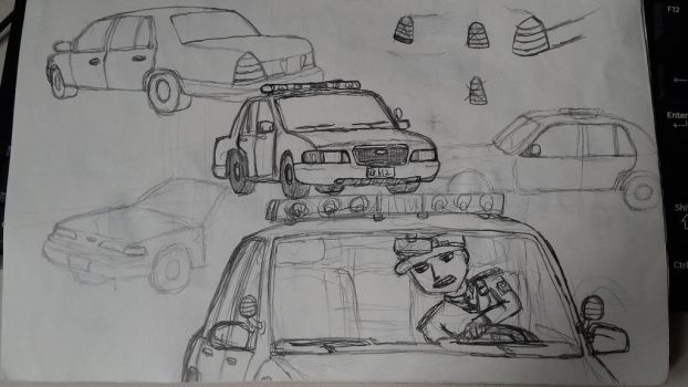 Ford Crown victoria Practice by sunung0317