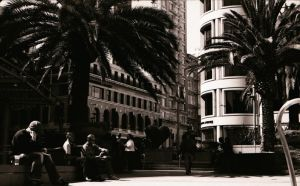 Union Square Facing the Street by lbrneyes149