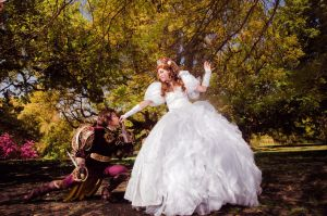 Enchanted - The Prince and the Maid by alita-b-angel