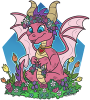Ember's Garden by TheLeatherDragonI