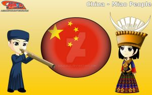 Chibi Miao People, China - Animondos by Dougieus