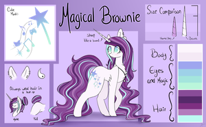 Magical Brownie Ref (Old) by MagicalBrownie