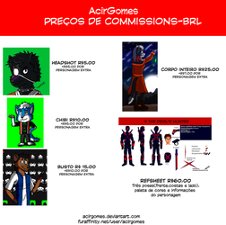 Tabela Comissions (BRL) by AcirGomes
