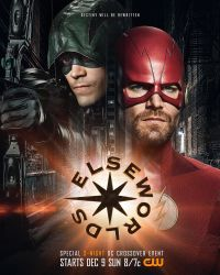 First Elseworlds Arrowverse Crossover Poster by Artlover67
