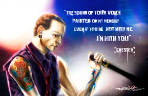 Tribute to Chester by Tatmione