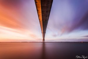 Pont de Normandie - 1 by Makavelie
