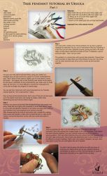 Tutorial wire wrap - Tree pendant - Part 1 by UrsulaJewelry