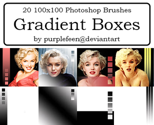 20 100x100 Gradient Brushes by purplefeen