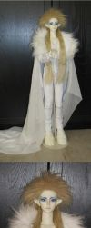 White Jareth BJD Cosplay by ShinigamiDuoLover