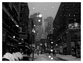 Boston in the Snow by starxgemini