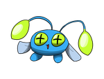Electric type collab: Shiny Chinchou by osarumon