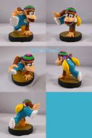 Tiny Kong Amiibo by ChibiSilverWings