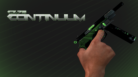 CZ75-Auto (Continuum) In-Hand by RusticDusty