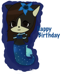 Happy Birthday WolfGirl!!! | Gift by DatD3rpIGriL