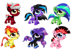 50 Point Pony adopts [OPEN] 1/6 by mlpdarksparx
