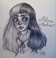 Melanie Martinez by JellyBeanDoodles