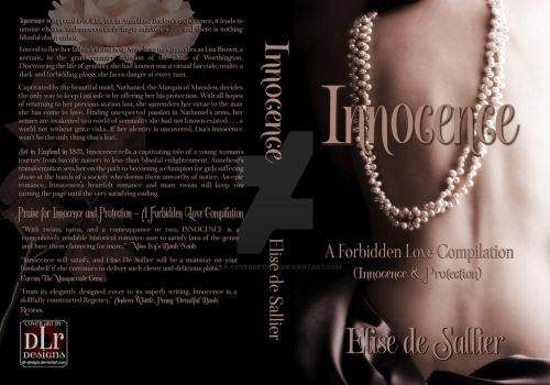 ** SOLD ** Innocence Compilation Book Cover by DLR-Designs
