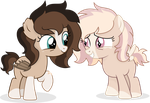 Filly sistars [No problem sis] by Cirillaq