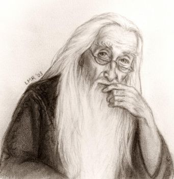 Dumbledore from OoP by LMRourke