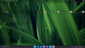 Arch Linux + BE::SHELL + PHP for Statistic by ZYrlleX