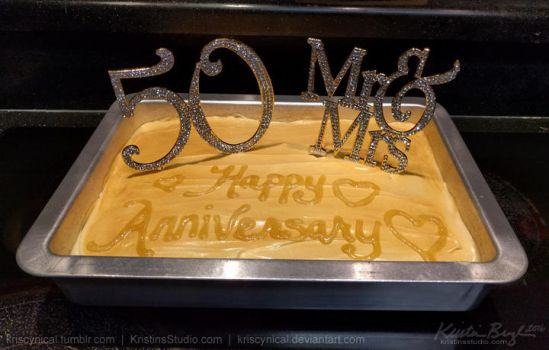 Happy 50th Anniversary to My Parents! by KrisCynical