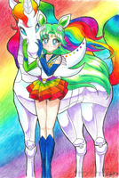 Rainbow Couple by Campanitaaa