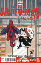 Superior Spider-Man Team-Up Sketch Cover by JMKohrs