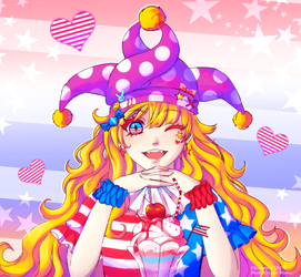 !ClownPiece! by Cryptic-Mystic