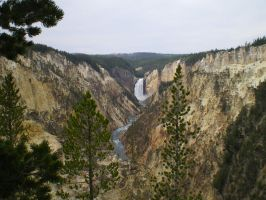 grand canyon of the yellowstone 04 by featherstockimages