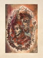 Beauty and the Beast - w.i.p. by anja-uhren