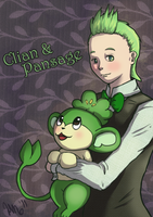 Cilan and Pansage