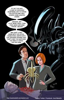 TLIID 373. The X-Files and Alien by AxelMedellin
