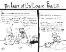 Last of Us Logic Fails: Bullet wounds by brensey