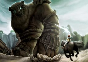 Shadow of The Colossus by alvinsanity