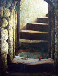 the dungeon stairs by rodulfo