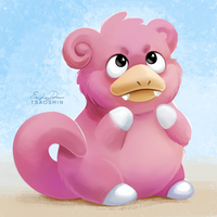 079 - Slowpoke by TsaoShin