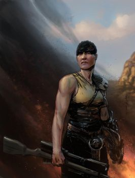 Furiosa by Paul Moore - colors by Biram-Ba