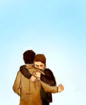 Destiel by firestar21