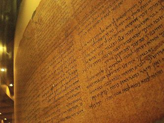 The scrolls from the Dead Sea by Balauru