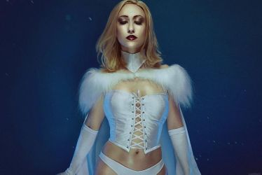 Emma Frost by adelhaid