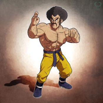 Mister Satan + Dragon Ball Z + by leomon32