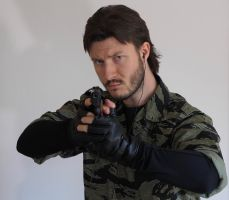MGS3 Snake Eater Naked Snake Cosplay 3 by GeorgeSears1972
