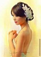 Beautiful In White 7 by artistamroashry